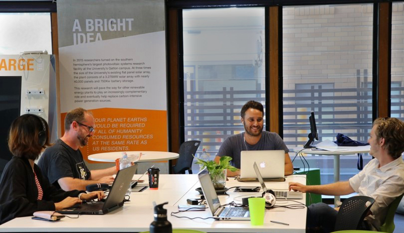 ilab Accelerator founders in Ventures Space