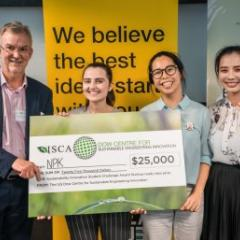 Students' SISCA success opens doors for startup