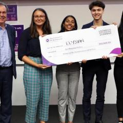 Winning team of the KWM Law Prize 2020