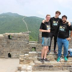 Climbing over the Great Wall: entrepreneurship in China with UQ Idea Hub