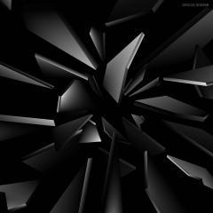 Event image - black cut glass