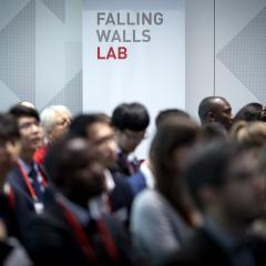 Seated audience at Falling Walls Berlin finals