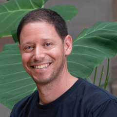 Ran Heimann in the Global Change Institute at UQ